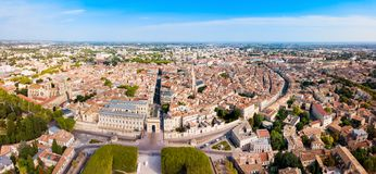 Free Montpellier Aerial Panoramic View, France Stock Photo - 145939100