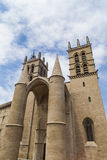 Montpellier Cathedral Stock Photo