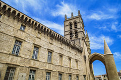 Montpellier Cathedral Stock Photos