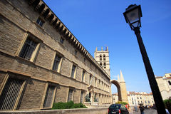 Montpellier Cathedral Stock Images