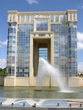 Montpellier. France. Headquarter of the Region Government royalty free stock images