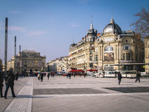 Montpellier, France Royalty Free Stock Photos