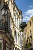 Montpellier (France): old buildings Stock Photography