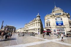 Montpellier, Frankreich lizenzfreie stockbilder