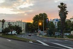 Montpellier, Frankreich stockbilder