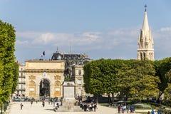 Montpellier, Frankrijk stock foto's