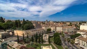 Montpellier Frankrike royaltyfri fotografi