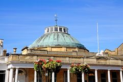 Montpellier Rotunda, Cheltenham. View of the Montpellier Rotunda which was formerly a Spa building, Cheltenham, Gloucestershire, England, UK, Western Europe royalty free stock image