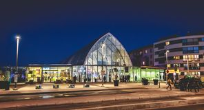 Free Montpellier Saint Roch Train Station On A Winter Day Stock Photography - 137871012