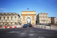 Montpellier travel Stock Photo