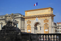 Montpellier travel Royalty Free Stock Images