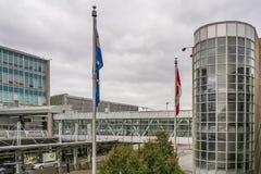 Montréal-Pierre Elliott Trudeau International Airport foto de archivo libre de regalías