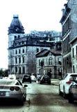 Montréal旧港口  免版税库存照片