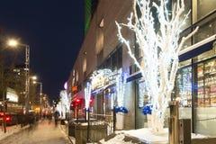 Montréal Luminotherapy场面 免版税图库摄影