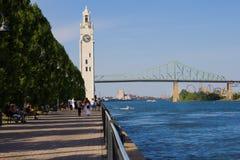 Montréal Québec加拿大 库存图片