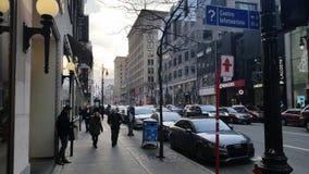 Montréal-Stadt Stockfotografie