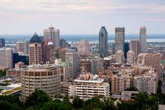 Montréal ayant beaucoup d'étages Photos stock