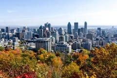 Montréal dans l'automne photos stock