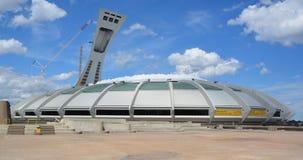 Montréal le Stade Olympique et tour Image libre de droits