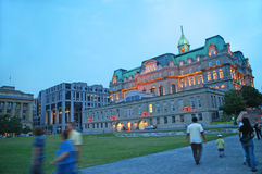 Montréal vieux Photos libres de droits