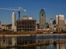 Montréal Construction Royalty Free Stock Photo