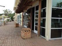 Montra e shopping em Sheridan Villa fotografia de stock royalty free