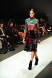 Montrare di modello progetta da Erdem ad Audi Fashion Festival 2011 Immagine Stock