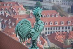 Montre au-dessus de ville Image libre de droits