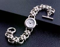 Montre-bracelet de dames Image libre de droits