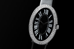 Montre-bracelet de dames Photo libre de droits