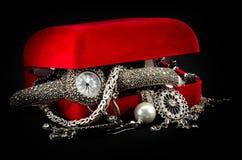 Montre-bracelet de femme Images stock
