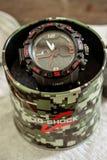Montre-bracelet de G_shock images stock