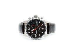 Montre-bracelet du chronographe des hommes Images stock