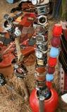 Montre-bracelet sur la branche photos libres de droits