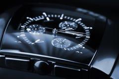 Montre de chronographe faite en céramique de pointe Image stock