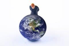 Montre de la terre photos libres de droits