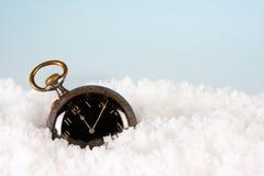 montre de neige Image stock