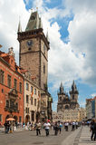 Montre de Prague Photographie stock