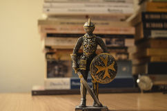 Montre et chevalier photos stock