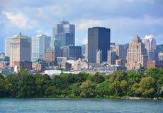 Montreal śródmieście Zdjęcia Royalty Free