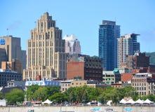 Montreal śródmieście Zdjęcie Royalty Free