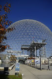 Montreal. Popular tourist attraction travel desitnation montreal tourism. science center  biosphere Royalty Free Stock Photos