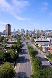 Montreal. View by a Jacques-Cartier bridge in  # 2 Royalty Free Stock Photography
