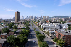 Montreal. View by a Jacques-Cartier bridge in  # 3 Royalty Free Stock Photo