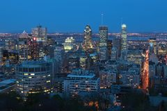Montreal Arkivbild