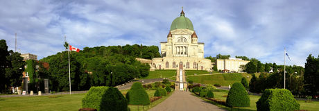 Montreal. View of Montreal St-Joseph Oratory Royalty Free Stock Images