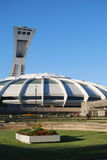 Montreal. The Olympic stadium, Montreal, Quebec, Canada Stock Photo