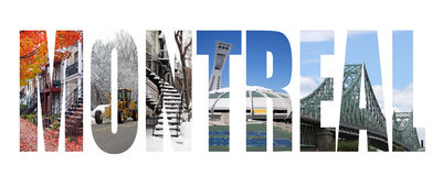 montreal fotografia stock