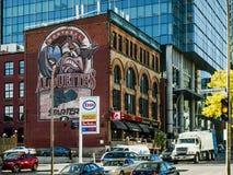 Montreal Alouettes Football Club Stock Image
