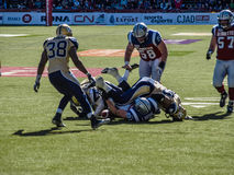Montreal Alouettes Football Club Stock Photography